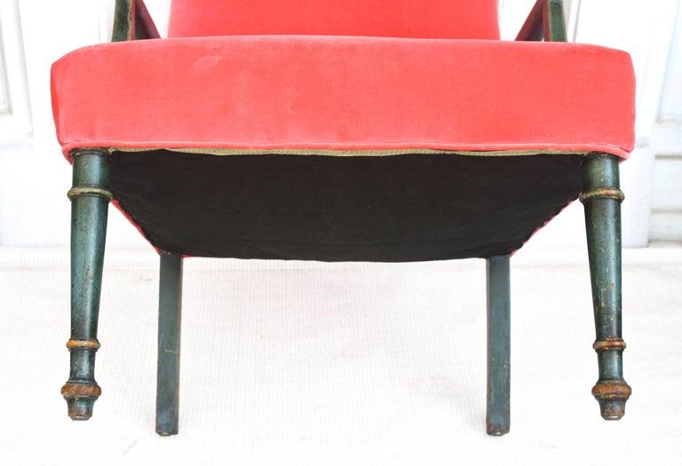 Regency Gainsborough Armchair For Sale 3