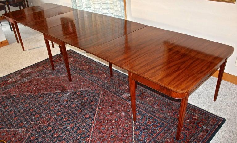 American Centennial Mahogany Banquet Table 3