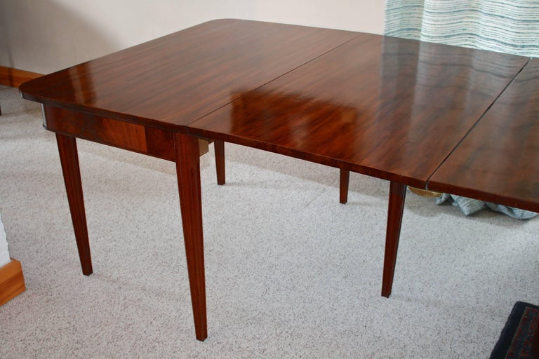 American Centennial Mahogany Banquet Table For Sale 3