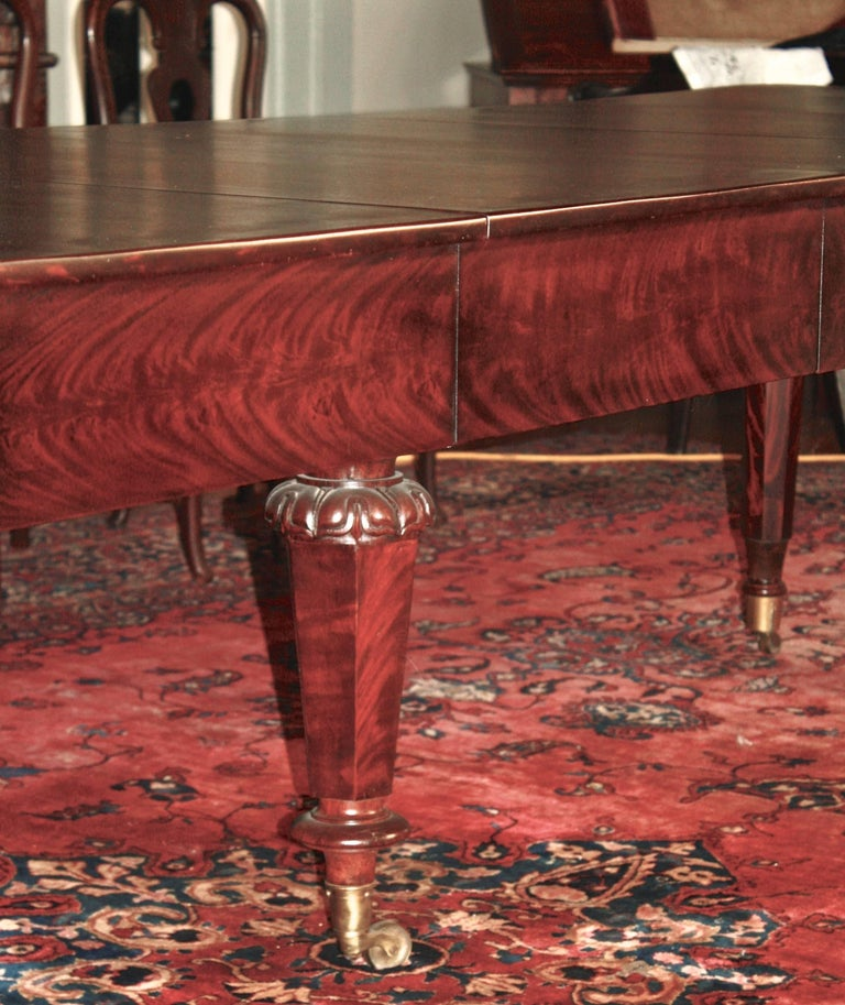 American Classical Period Banquet Table For Sale 2