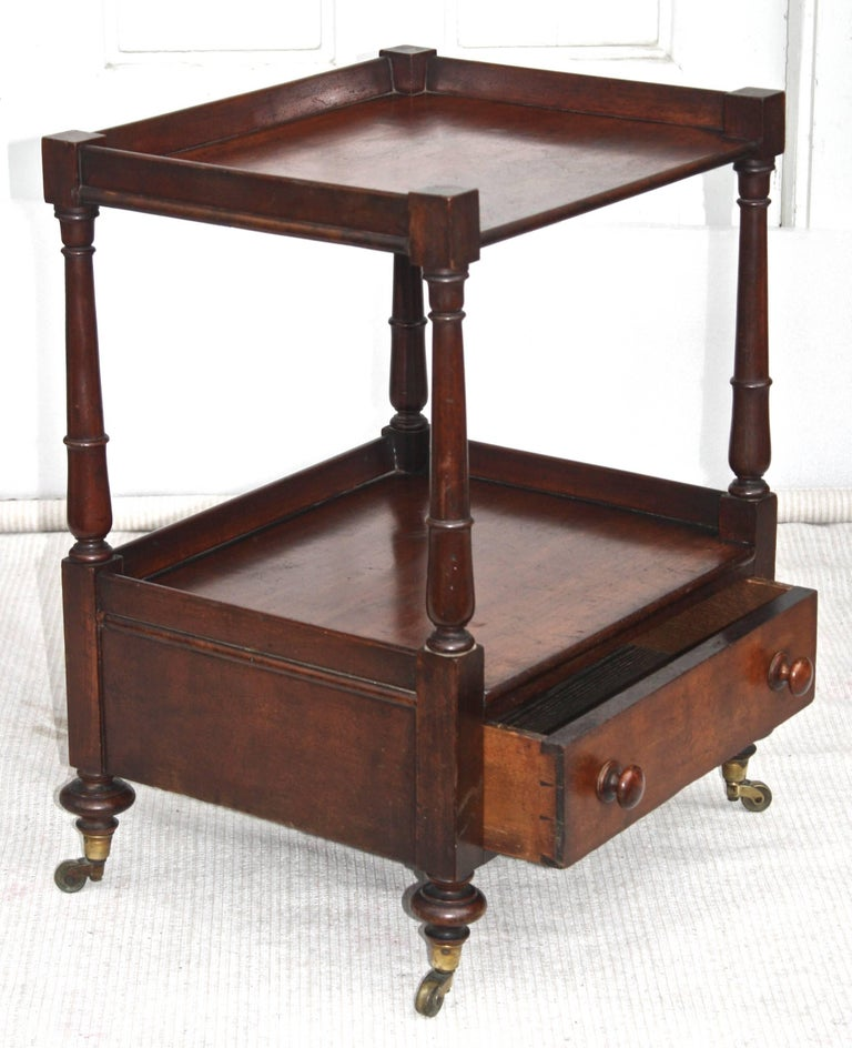 Regency 'Short' Dumbwaiter Table 2