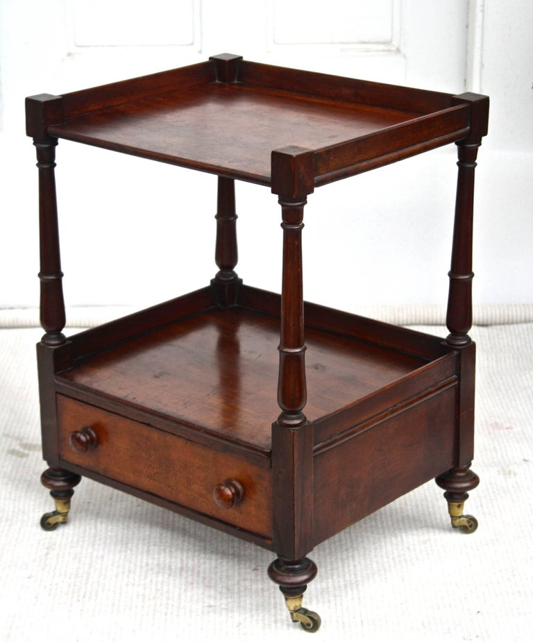 Regency 'Short' Dumbwaiter Table 3