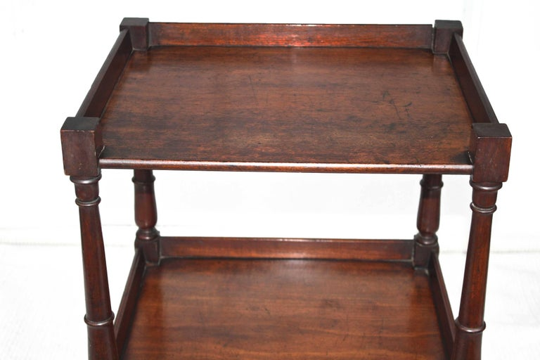 Regency 'Short' Dumbwaiter Table 6