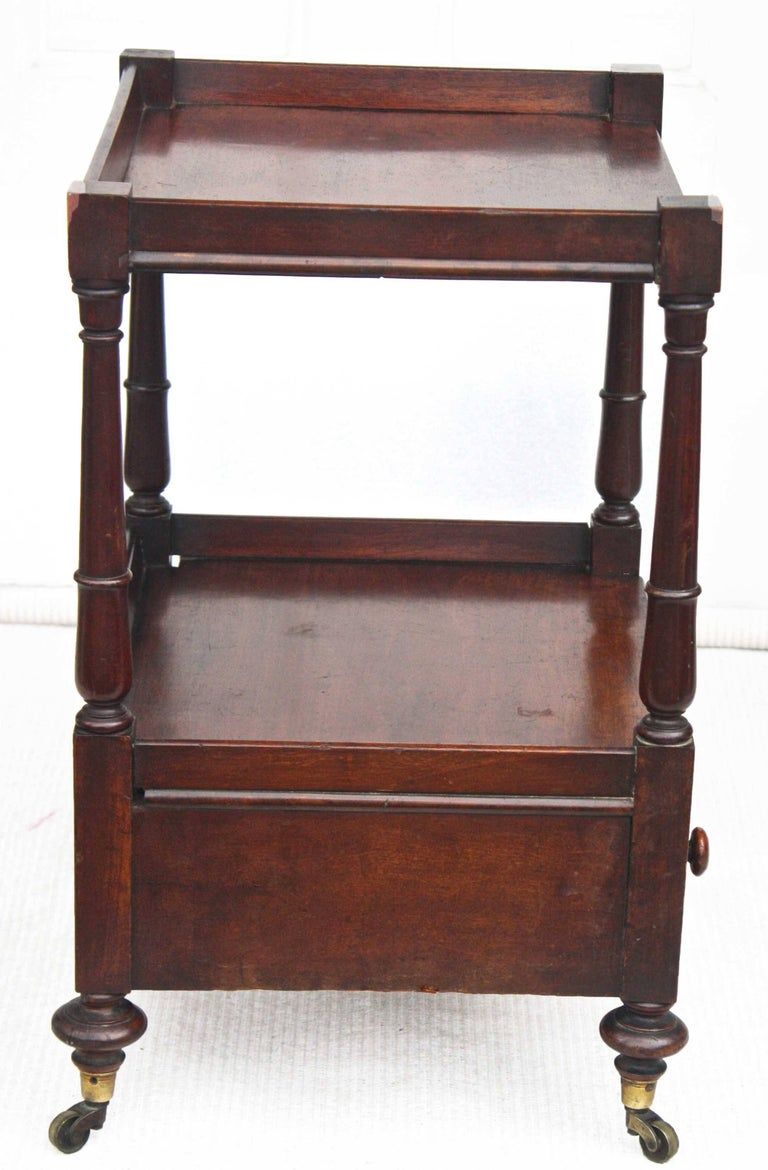 Regency 'Short' Dumbwaiter Table 4