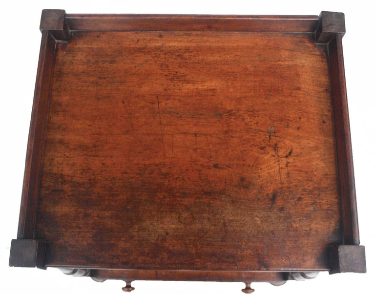 Regency 'Short' Dumbwaiter Table 9