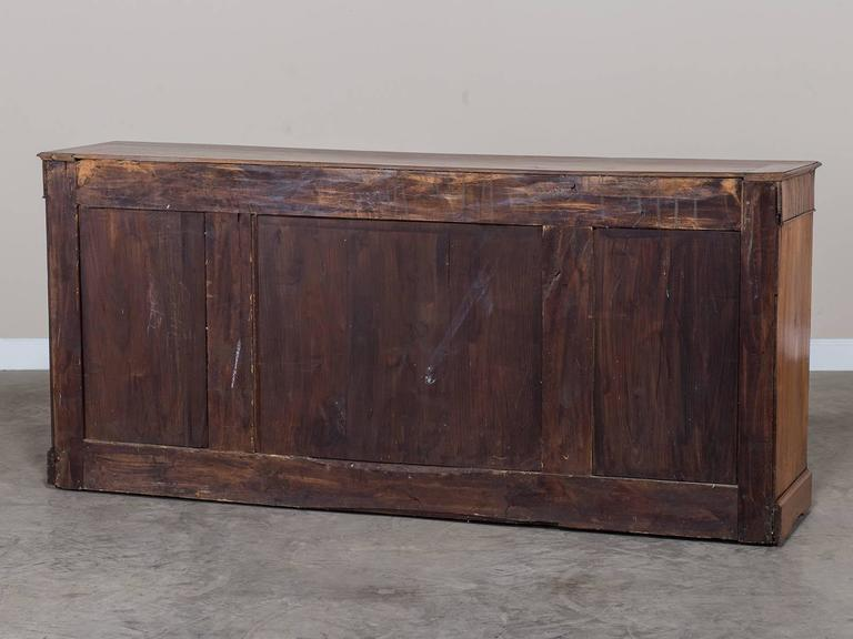 Louis xvi style antique french elm buffet enfilade circa 1840 at 1stdibs - Buffet enfilade vintage ...