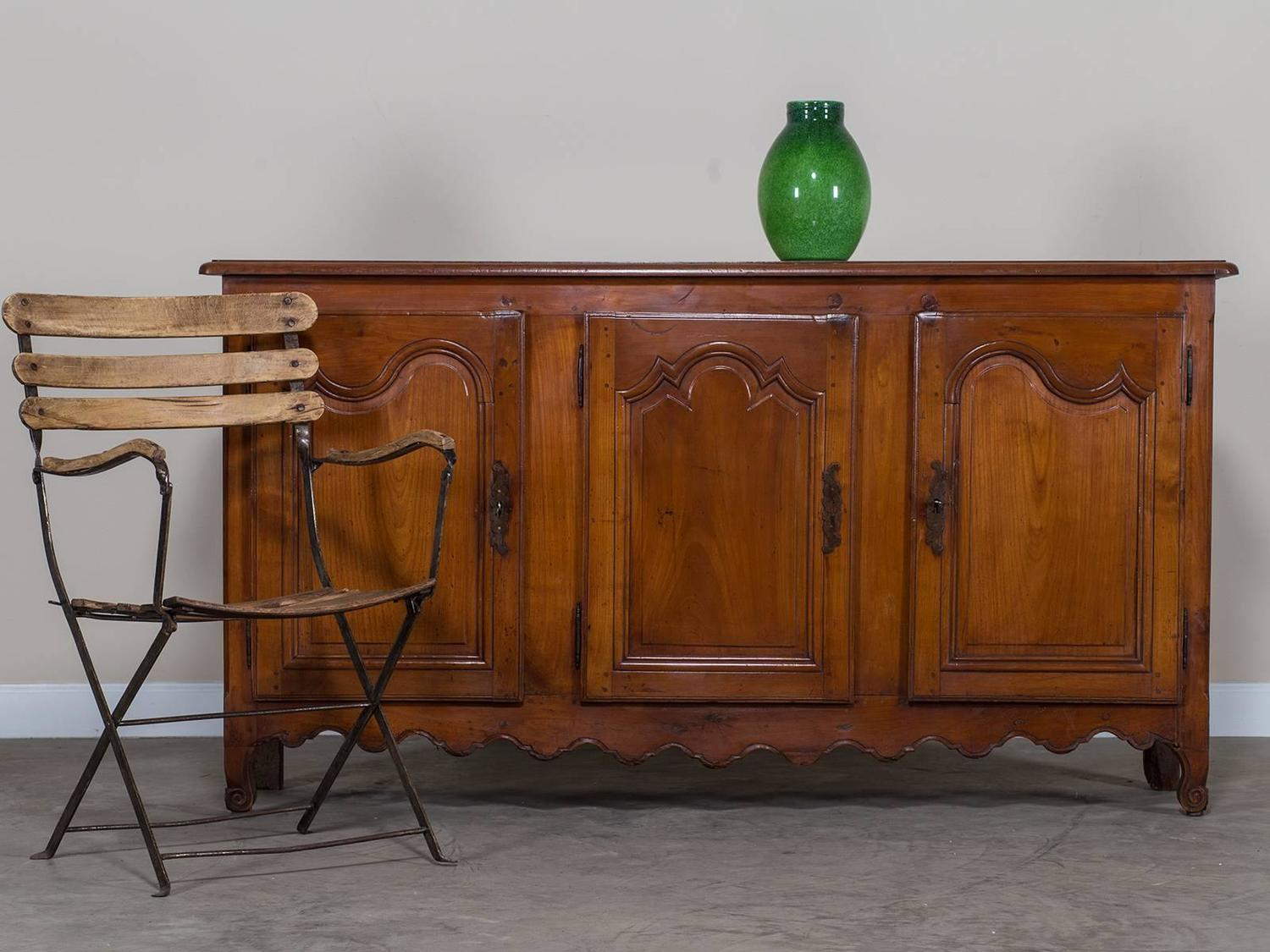 Antique french louis xv style cherry enfilade buffet circa 1820 for sale at - Buffet enfilade vintage ...