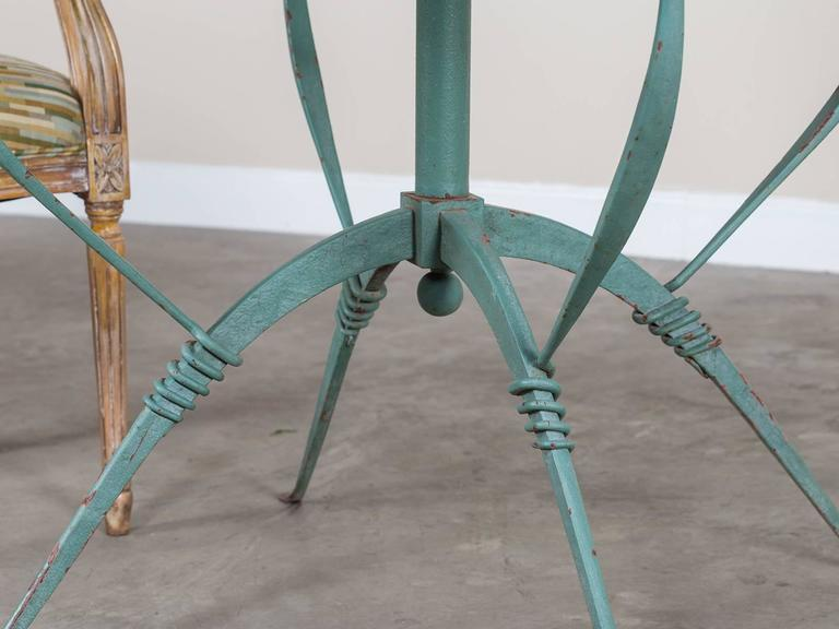 Art deco french painted iron table circa 1930 raymond for Decoration maison 1930