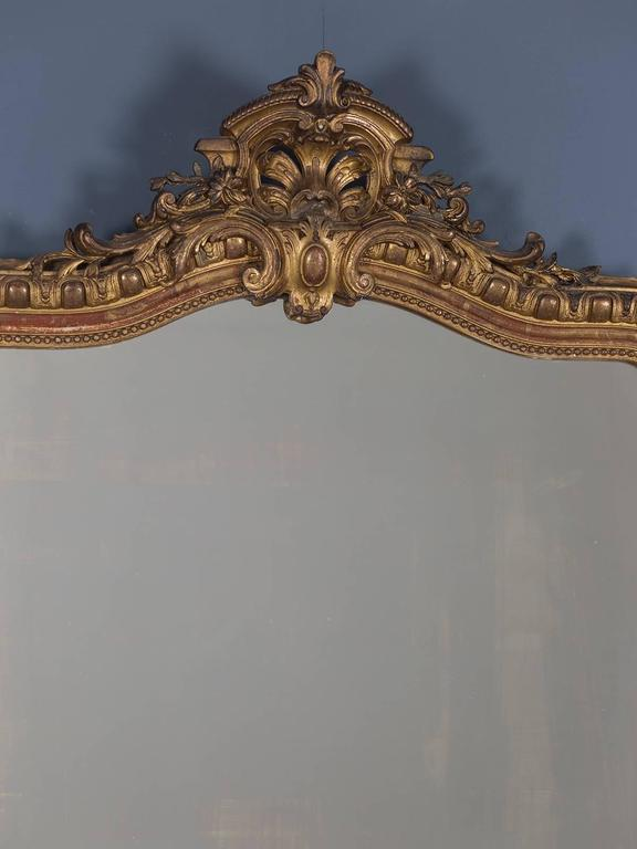 """Receive our new selections direct from 1stdibs by email each week. Please click """"Follow Dealer"""" button below and see them first!  The handsome proportion of this antique French Louis Philippe mirror, circa 1880 along with the bold scale of its"""