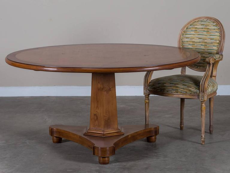Receive Our New Selections Direct From 1stdibs By Email Each Week Please Click Follow Dealer English Regency Style Cherrywood Round Pedestal Dining Table