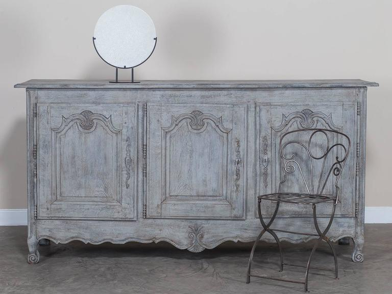 antique french louis xv style painted oak buffet enfilade circa 1850 at 1stdibs. Black Bedroom Furniture Sets. Home Design Ideas