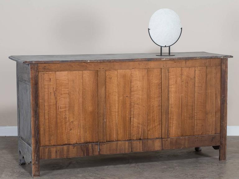antique french louis xv style painted oak buffet enfilade. Black Bedroom Furniture Sets. Home Design Ideas