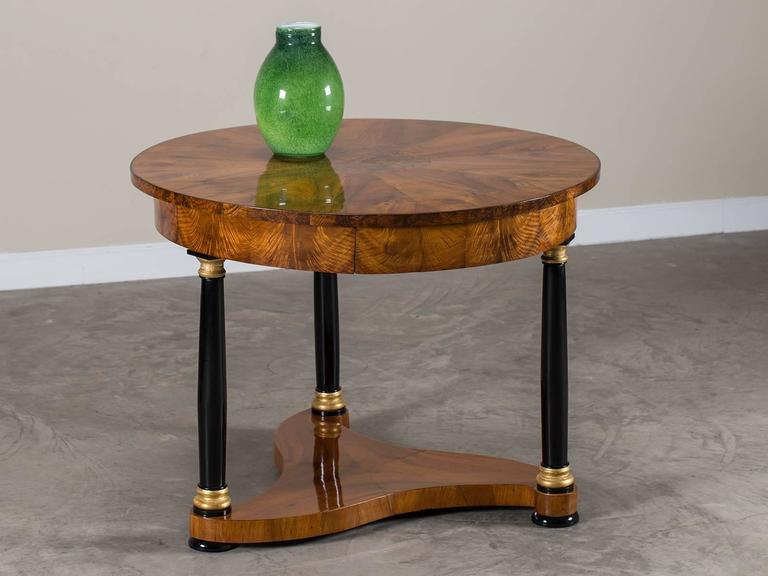 biedermeier period antique german walnut table berlin. Black Bedroom Furniture Sets. Home Design Ideas