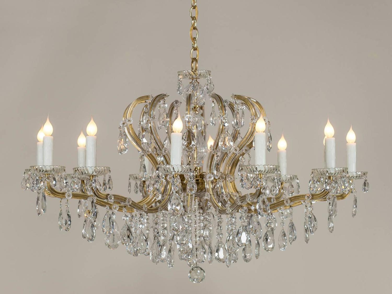 Quot Maria Theresa Quot Vintage Austrian Crystal Chandelier Circa