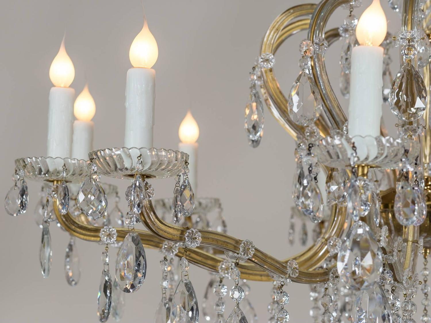 Antique austrian crystal chandelier chandelier designs vintage austrian crystal chandelier designs aloadofball Image collections