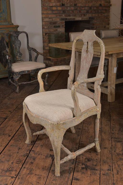 Swedish Rococo Chairs 3
