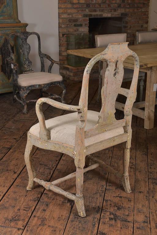 Swedish Rococo Chairs 5