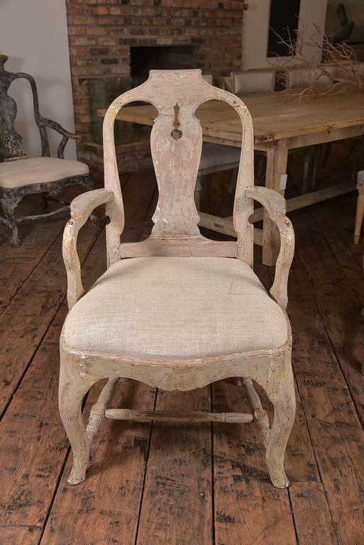 Swedish Rococo Chairs 6