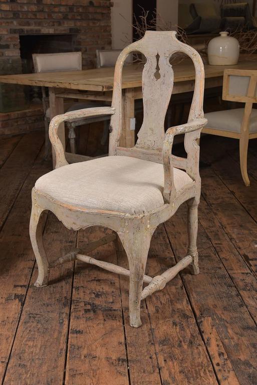 Swedish Rococo Chairs 7