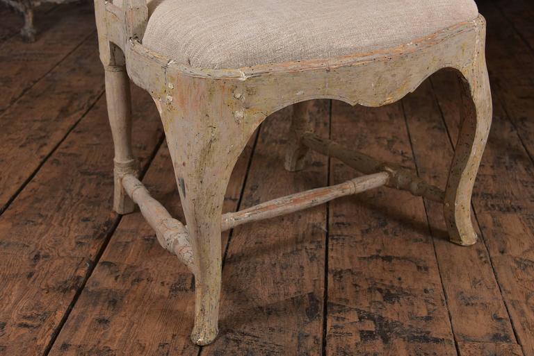 Swedish Rococo Chairs 8