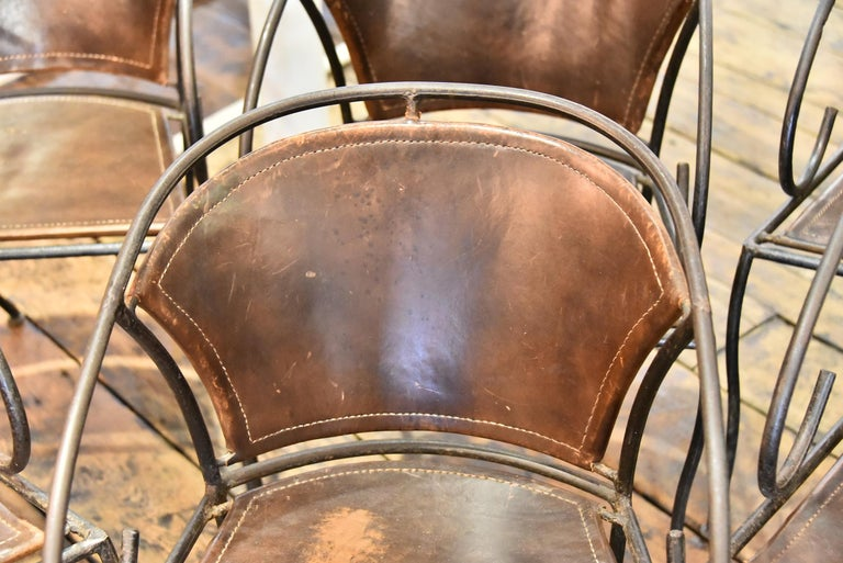 Spanish Dining Chairs In Good Condition For Sale In Houston, TX