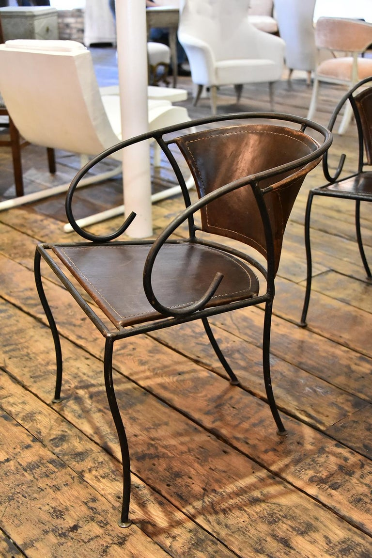 Mid-20th Century Spanish Dining Chairs For Sale