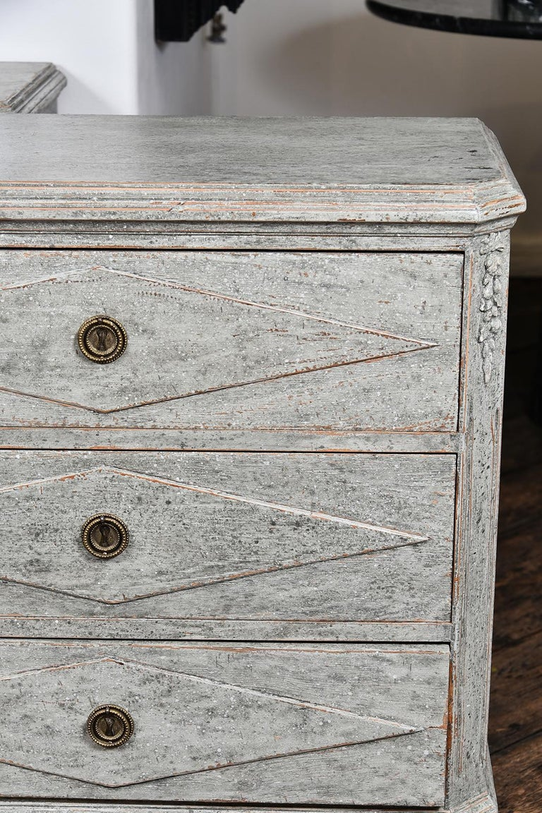 Early 19th Century Pair of Swedish Gustavian Chests For Sale