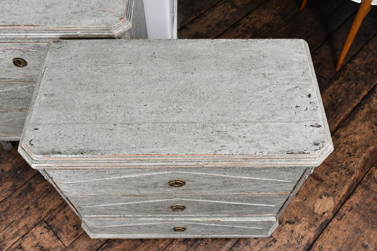 Pair of Swedish Gustavian Chests For Sale 1