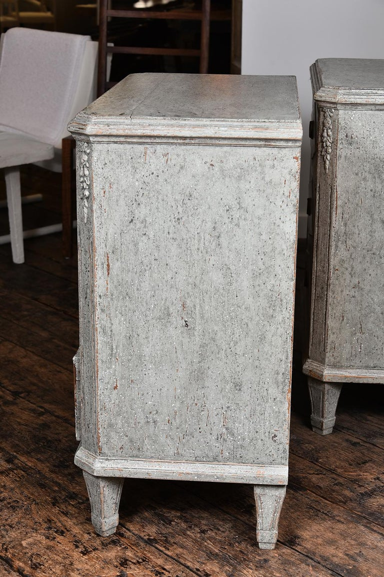 Pair of Swedish Gustavian Chests For Sale 2