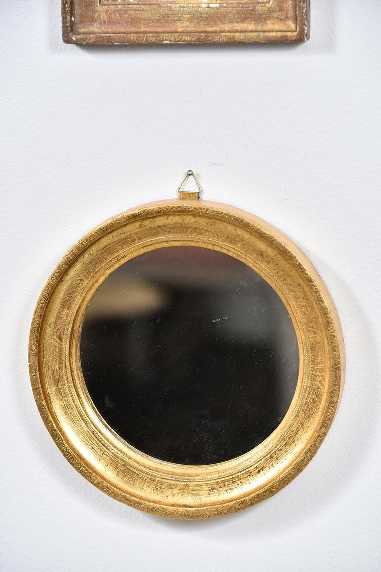 Collection of Petite Italian Mirrors For Sale 2