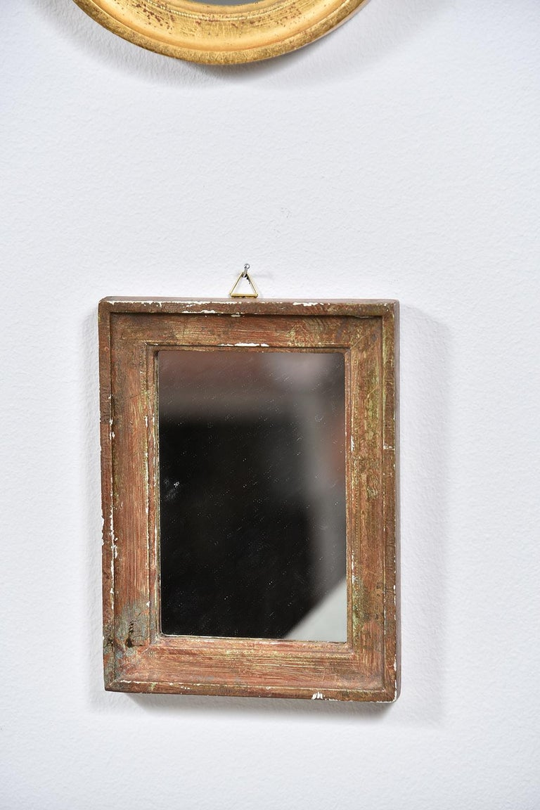Collection of Petite Italian Mirrors For Sale 3