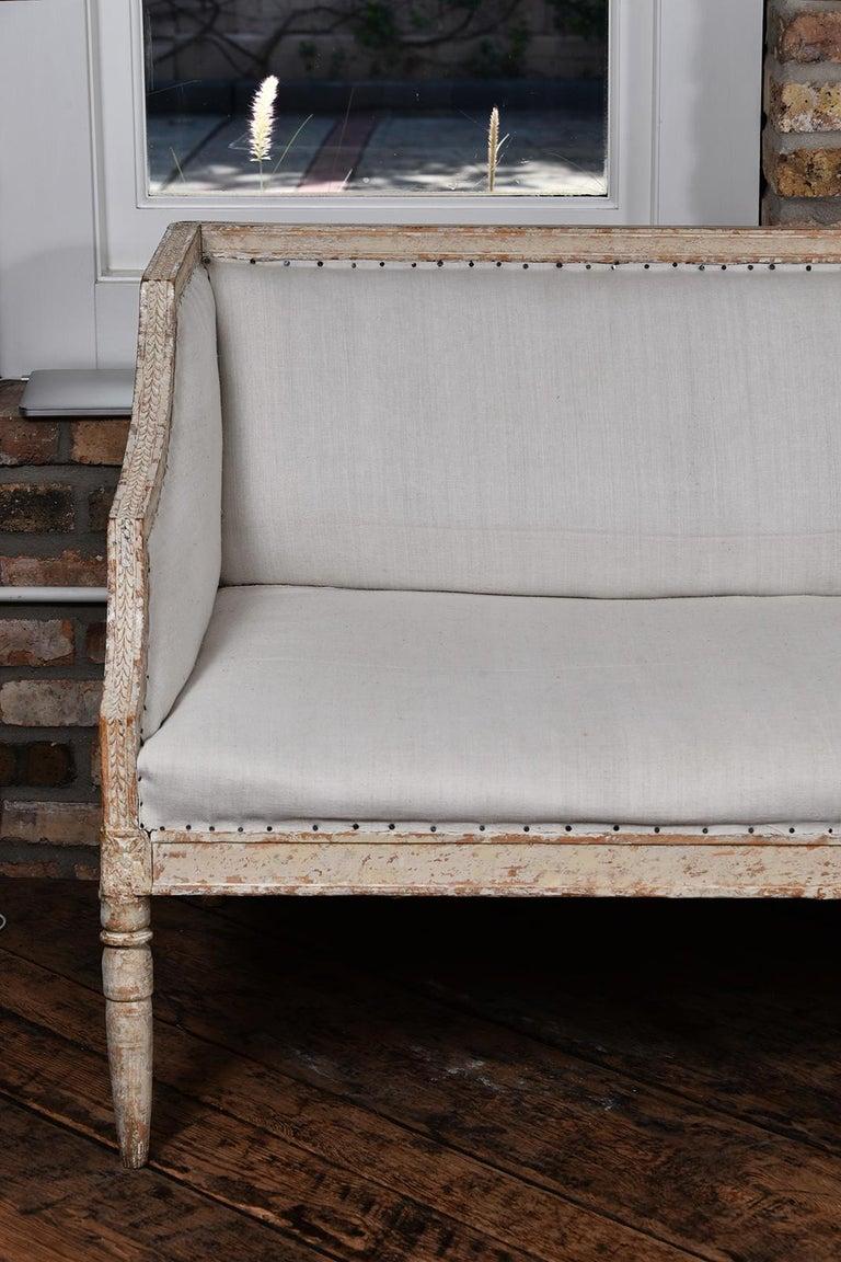 Early 19th Century Swedish Gustavian Sofa For Sale