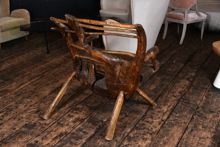 Primitive Italian Chair For Sale 2