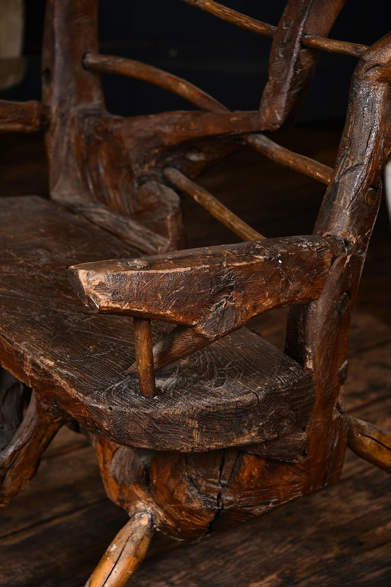 Primitive Italian Chair For Sale 5