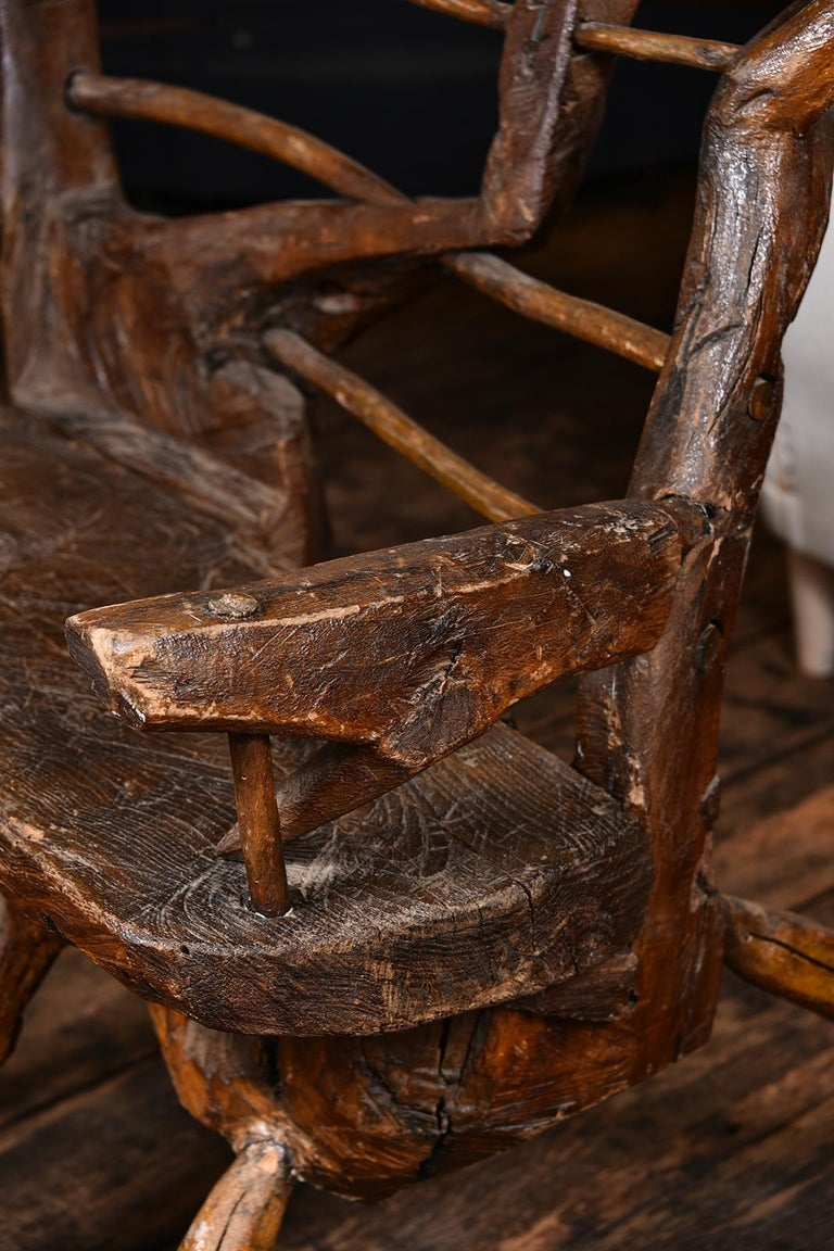 Primitive Italian Chair For Sale 6