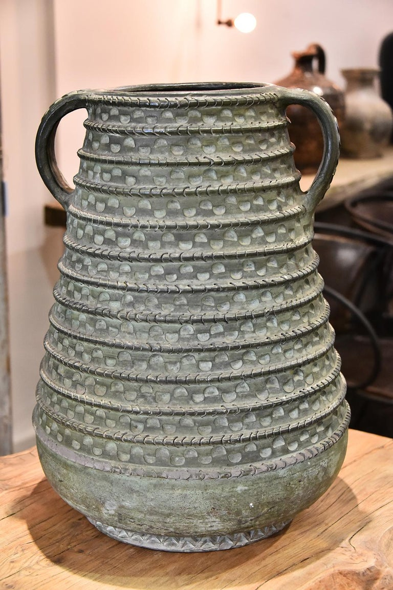 Large Bronze French Vase For Sale 2