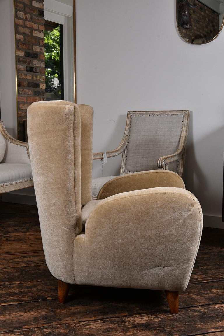 Pair of 1930s Scandinavian Club Chairs For Sale 1