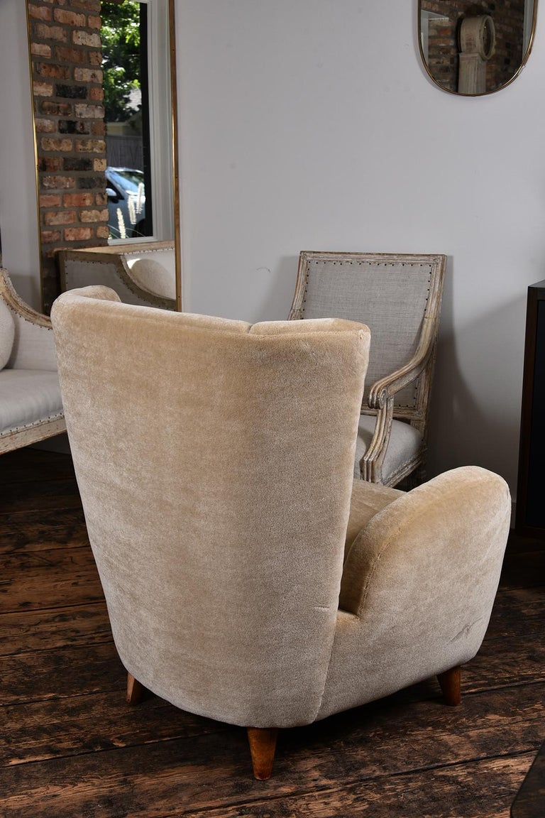Pair of 1930s Scandinavian Club Chairs For Sale 2