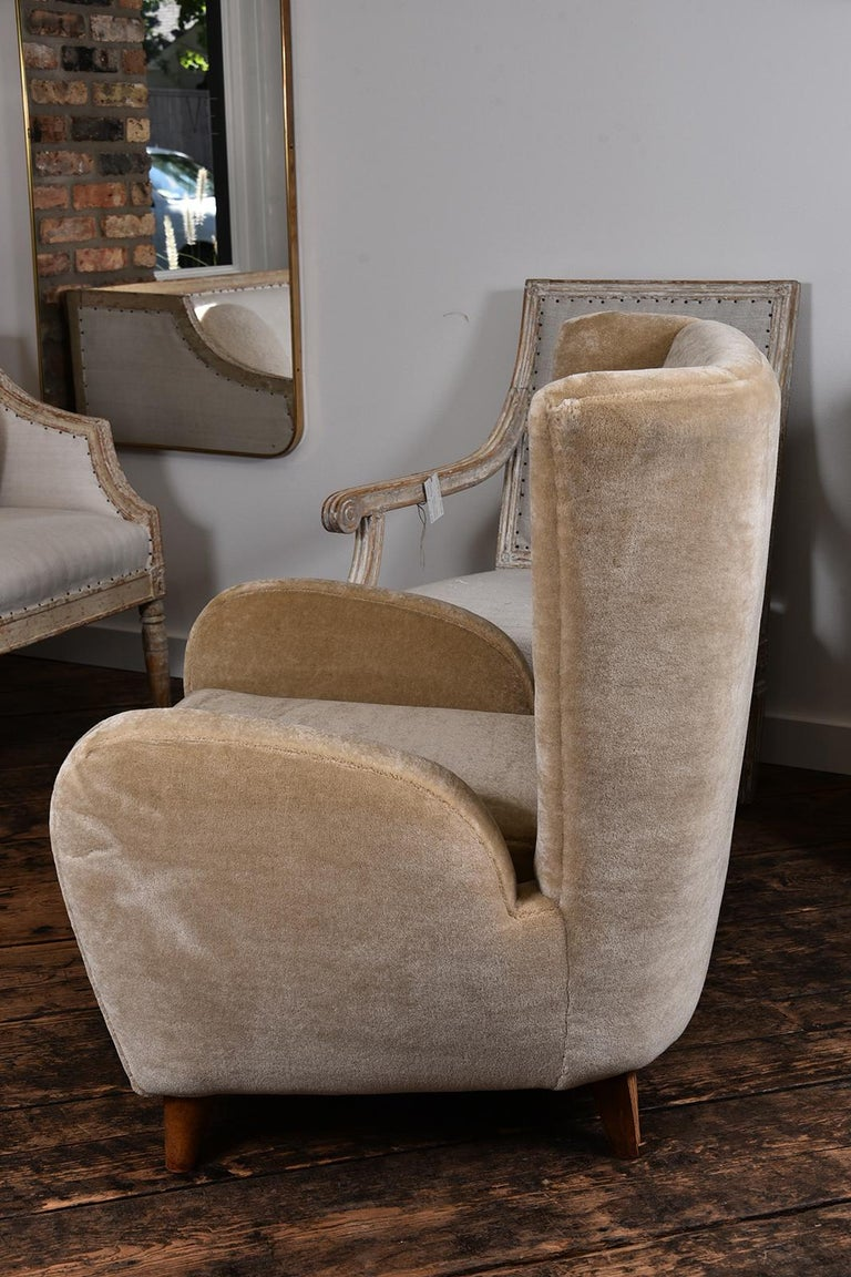 Pair of 1930s Scandinavian Club Chairs For Sale 3