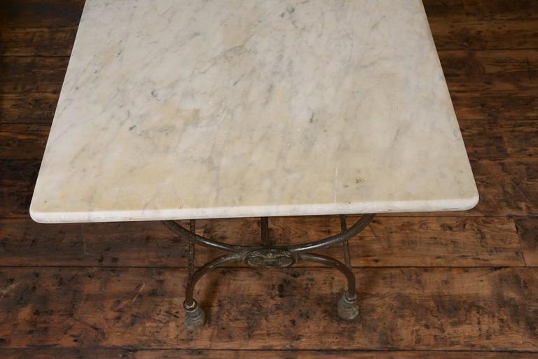 Pair of French Butcher Tables For Sale 2