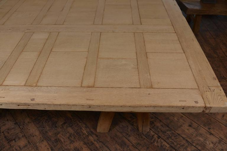 19th Century Massive French Dining Table For Sale