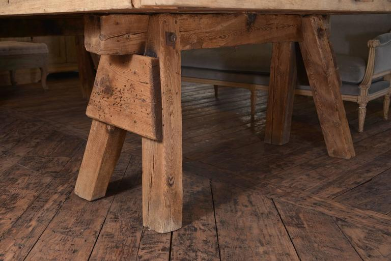 Massive French Dining Table For Sale 1