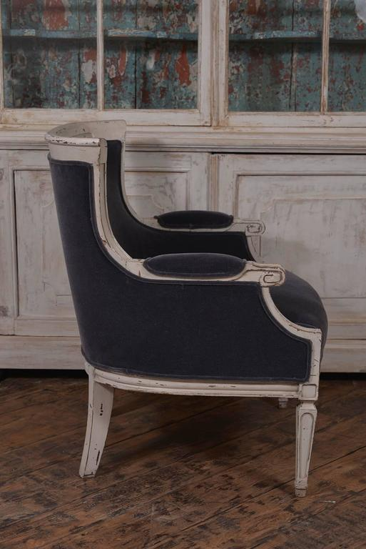 Pair of French Club Chairs For Sale 2
