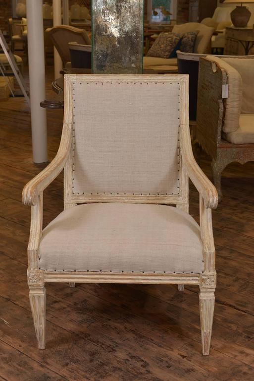 19th Century Single Swedish Chair For Sale