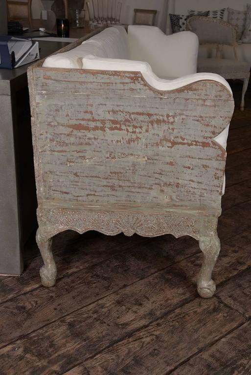 18th Century and Earlier Swedish Trag Sofa For Sale