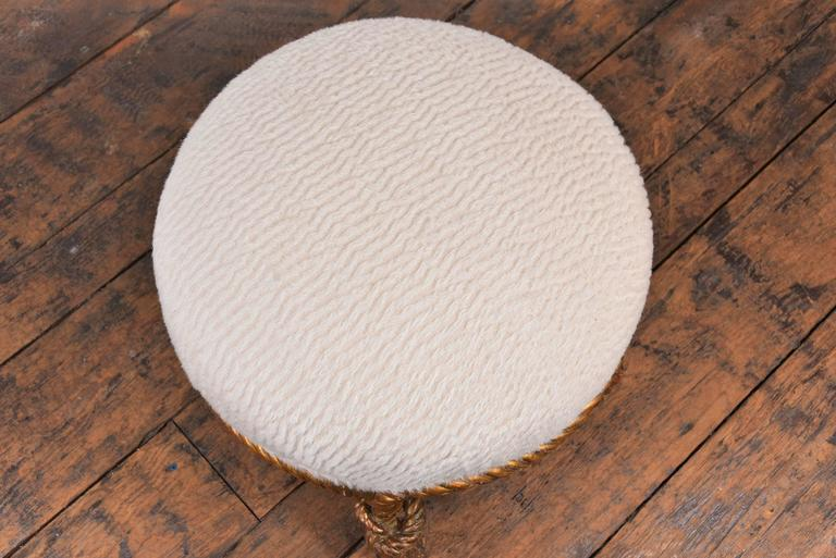 19th Century Fournier Rope Stool For Sale