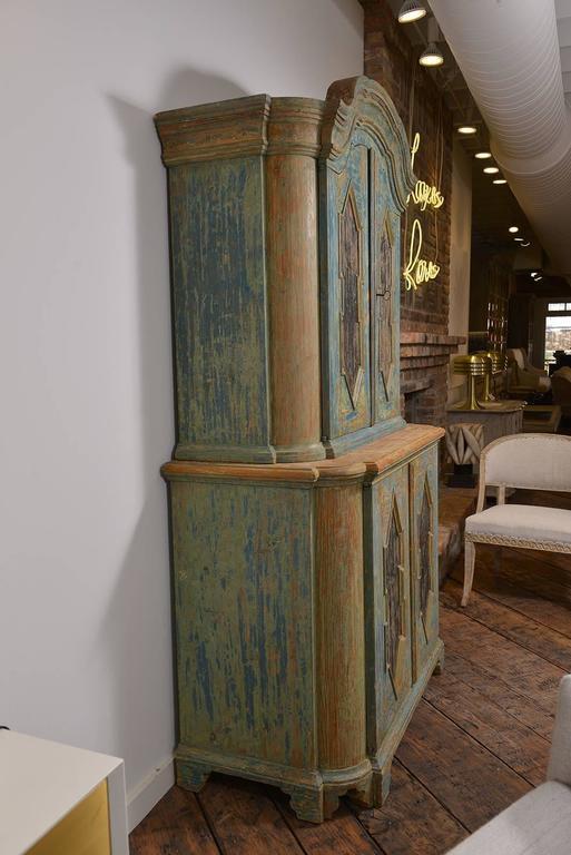 European Rococo Cabinet For Sale