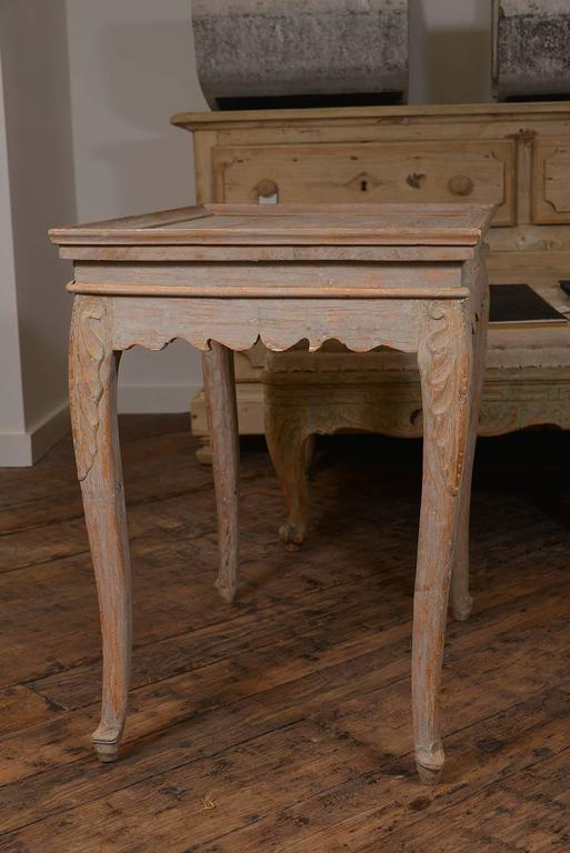 Swedish Rococo Tray Table 4