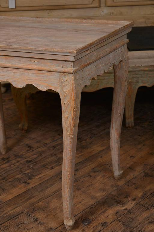 Swedish Rococo Tray Table 3