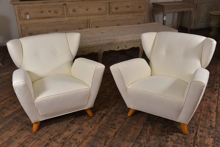 Pair of Vintage Italian Chairs 2